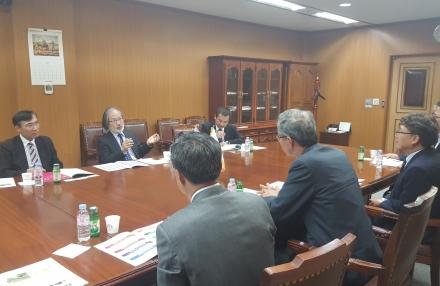 일본 JAIST(호쿠리쿠첨단과학기술대학원대학)총장 일행 방문