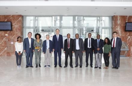 에티오피아 대사, 상무부 차관 내방