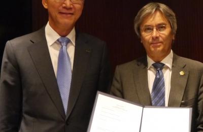 김도연 총장, 독일 드레스덴 공대와 iEGSEMP 코리아 설립 위한 의향서 교환